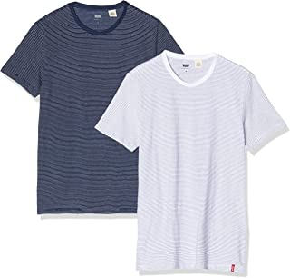 Slim 2pk Crewneck 1 Camiseta para Hombre