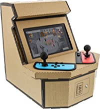 Nyko PixelQuest Arcade Kit - Constructible Arcade Kit with Customizable Pixel Art Sticker Kit and Arcade Stick Toppers for...