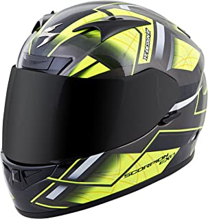 Scorpion EXO-R710 Unisex-Adult Full Face Motorcycle Helmet (Neon, Medium) (Fuji)