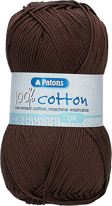 Vintage Cotton Double Knitting Yarn 500 G 5 boules 80/% coton moutarde