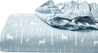 Eddie Bauer - Flannel Collection - 100% Premium Cotton Bedding Sheet Set, Pre-Shrunk & Brushed For Extra Softness, Comfor...