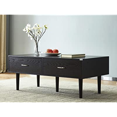 "Mixcept Wooden Coffee Table 47"" Rectangular Co..."