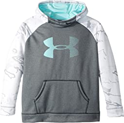 Under Armour Kids - Armour Fleece Camo Blocked Hoodie (Big Kids)