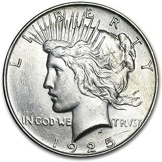 1925 Peace Dollar BU $1 Brilliant Uncirculated