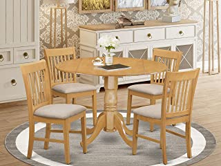 Amazon Com Round Dining Table Set