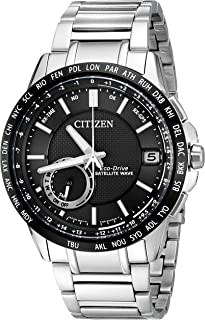 Citizen Men's Satellite Wave-World Time GPS Bracelet Watch