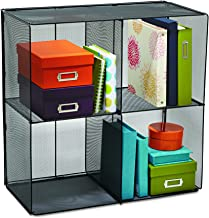 Safco Products 2172BL Onyx Mesh Cubes for use with Onyx Mesh Cube Bins 2173BL, sold separately, Black