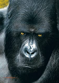 Buffalo Games Eyes of The Wild, Mountain Gorilla - 500pc Jigsaw Puzzle