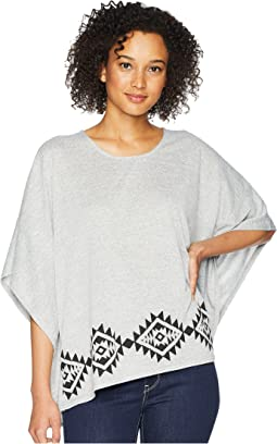 1774 Sweater Knit Poncho