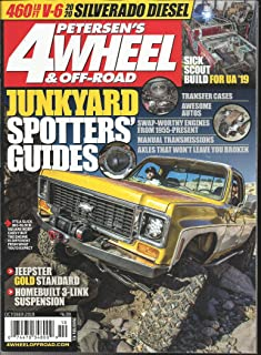 PETERSEN'S 4 WHEEL & OFF- ROAD MAGAZINE, JUNKYARD SPOTTERS GUIDES, OCTOBER, 2019 VOL. 42 NO. 10( PLEASE NOTE: ALL THESE MAGAZINES ARE PET & SMOKE FREE MAGAZINES. NO ADDRESS LABEL. FRESH FROM NEWSSTAND) (SINGLE ISSUE MAGAZINE)