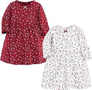 Hudson 女婴棉质连衣裙