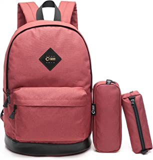 CrossLandy School Backpack for Women Men College Laptop Bookbag Travel Daypack