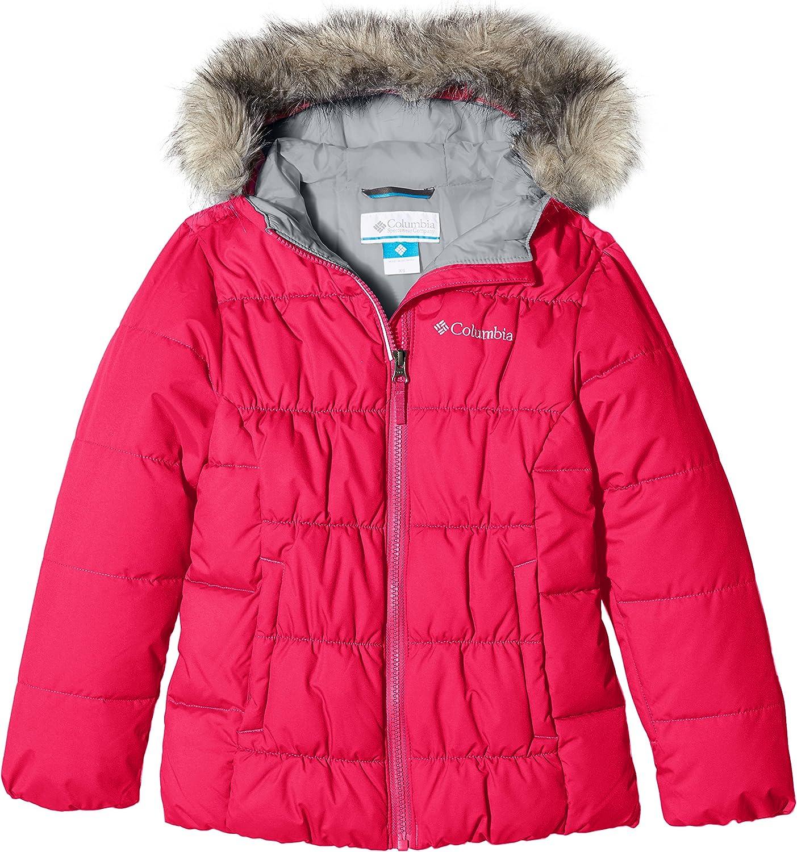 Columbia Girl's GYROSLOPE Jacket-Punch Pink XL