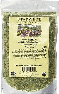Starwest Botanicals, Organic Senna Leaf C/S