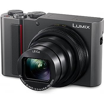 PANASONIC LUMIX ZS200 15X Leica DC Lens with Stabilization, 20.1 Megapixel, Large 1 inch Low Light Sensor (DC-ZS200S USA Silver)