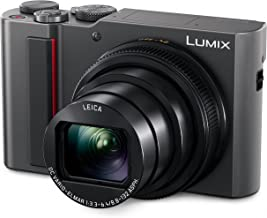 PANASONIC LUMIX ZS200 15X Leica DC Lens with Stabilization, 20.1 Megapixel, Large 1 inch Low Light Sensor (DC-ZS200S USA S...