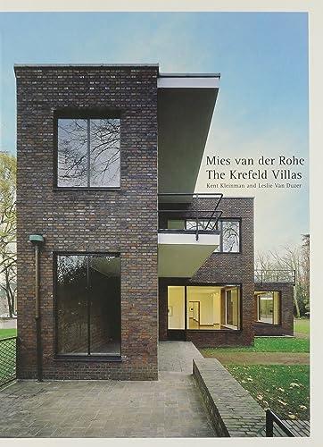Books By Kent Kleinman_mies Van Der Rohe The Krefeld ...
