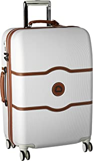 Delsey Luggage Chatelet Hard+ 24 inch 4 Wheel Spinner, Champagne (Off-White) - 401670810-15