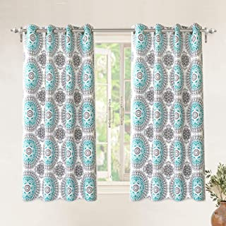 Best teal and gray kitchen curtains Reviews