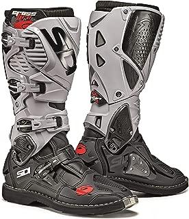 Sidi Crossfire 3 TA Offroad Boots (10/44, Black/Ash)