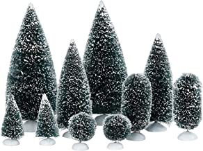 Department 56 Accessories for Villages Bag-O-Frosted Topiaries Tree