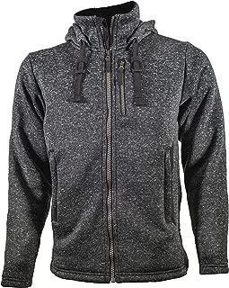 AMABILIS Men's Responder FZ Hoody, Zippered Tactical Hooded Sweatshirt