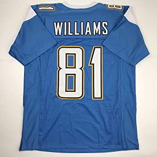 Unsigned Mike Williams Los Angeles LA Powder Blue Custom Stitched Football Jersey Size Men's XL New No Brands/Logos