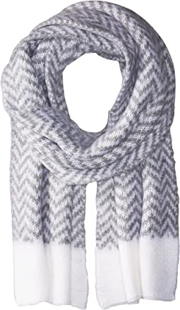 Vince Camuto - Chevron Brushed Scarf