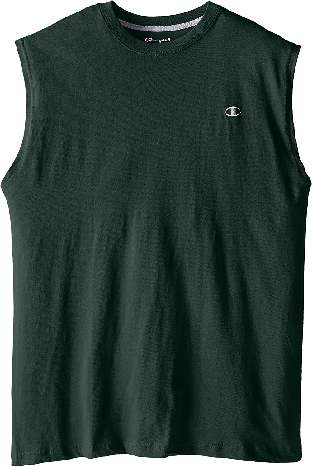 Champion Mens Big-Tall Jersey Muscle T-Shirt
