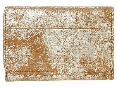 Hobo Jill Trifold Wallet (Gilded Leaf) Clutch Handbags