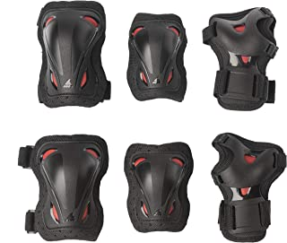 Rollerblade Protecciones Skate Gear Junior 3 Pack,...