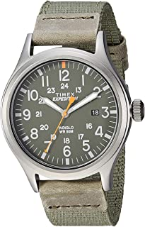 Men's TW4B14000 Expedition Scout 40mm Green/Gray...
