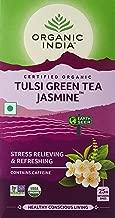 ORGANIC INDIA Tulsi Green Jasmine 25 Tea Bags