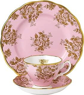 Royal Albert 3 Piece 100 Years 1960 Teacup, Saucer & Plate Set, 8