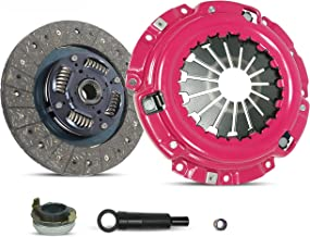 Clutch Kit Works With Ford Escape Escort Mazda Tribute Mercur Tracer Limited XLS XLT DX ZX2 SE LS GS Trio Deportivo Equi Mid Sport 1997-2004 2.0L l4 GAS DOHC Naturally Aspirated (Stage 1)