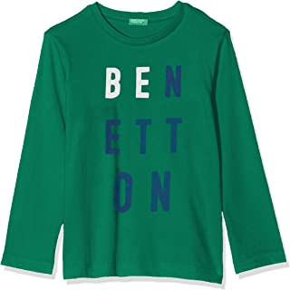 United Colors of Benetton Benetton Yazılı Tişört Erkek çocuk T-Shirt