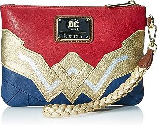 Wonder Woman Faux Leather Wristlet Wallet