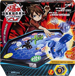 Bakugan Battle Arena, Game Board Collectibles, for Ages 6 and Up (Edition May Vary)