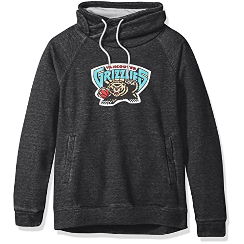 Vancouver Grizzlies Trading Block Hoodie By Mitchell /& Ness Mens /&Ness