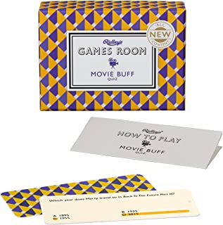 Ridley's Games Movie Buff Second Edition Quiz Card Guessing Game for Kids and Adults