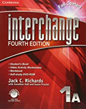Interchange Level 1 Full Contact A with Self-study DVD-ROM (Interchange Fourth Edition)