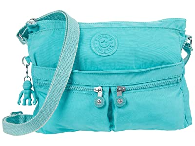 Kipling New Angie Crossbody Bag (Seaglass Blue) Handbags