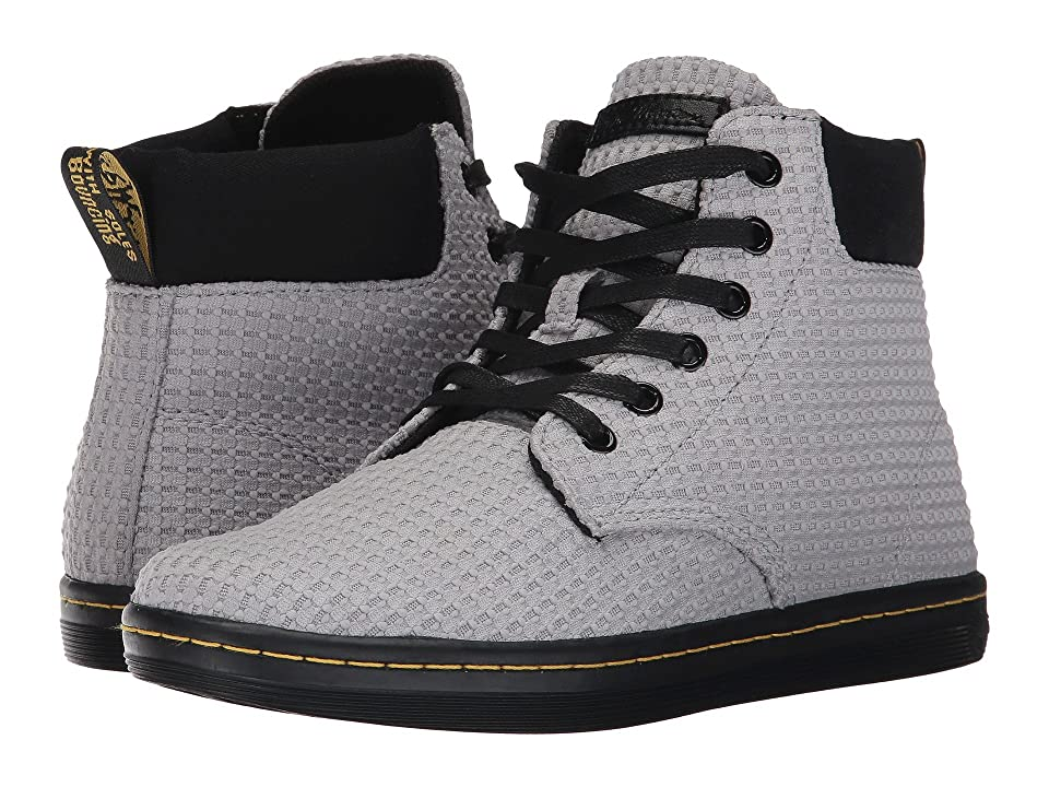 Dr. Martens Maelly Padded Collar Boot (Mid Grey Waffle Cotton) Women