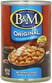 B & M Baked Beans, Original Flavor, 16 Ounce (Pack of 24)