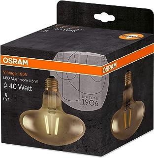 Osram LED Vintage 1906 Lamp, Mushroom Shape, Warm White