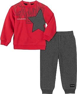 Calvin Klein Baby Boys 2 Pieces Pants Set