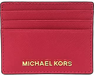 e0e9975efd4c Michael Kors Jet Set Travel Large Saffiano Leather Card Holder