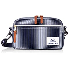 Padded Shoulder Pouch S: Hickory Stripe