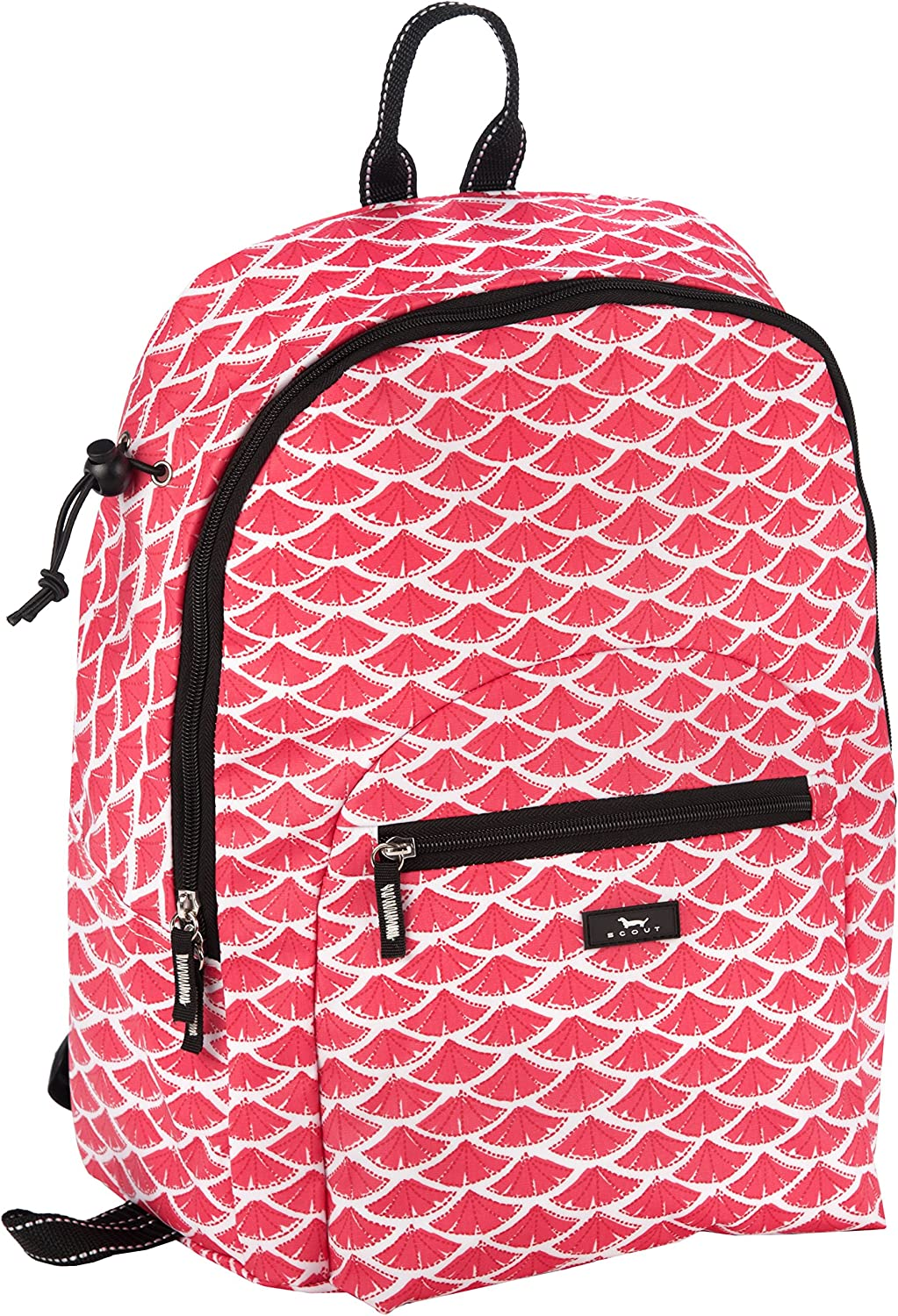 SCOUT Big Draw Backpack School Bag, Interior Laptop Sleeve, Padded & Adjustable Straps, Water Resistant, Zips Closed