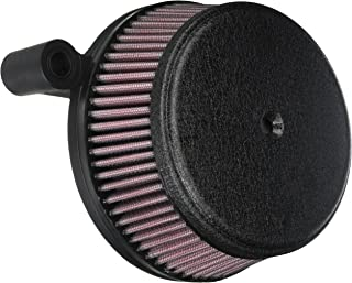 Arlen Ness 18-326 Black Big Sucker Stage I Air Filter Kit with Cover